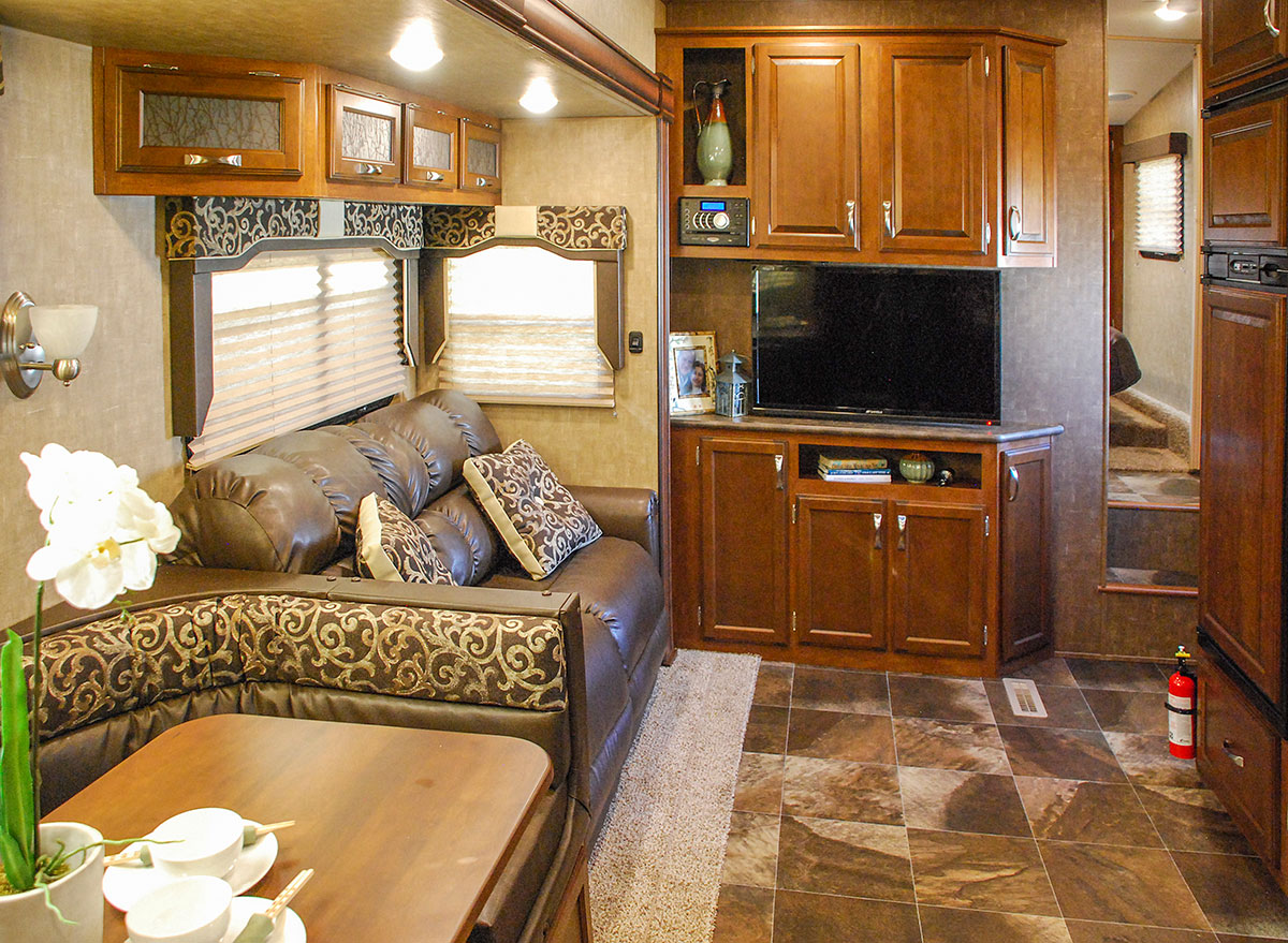 2016 durango 1500 d292bht lightweight luxury fifth wheel - 2016 luxury front living room 5th wheel ...