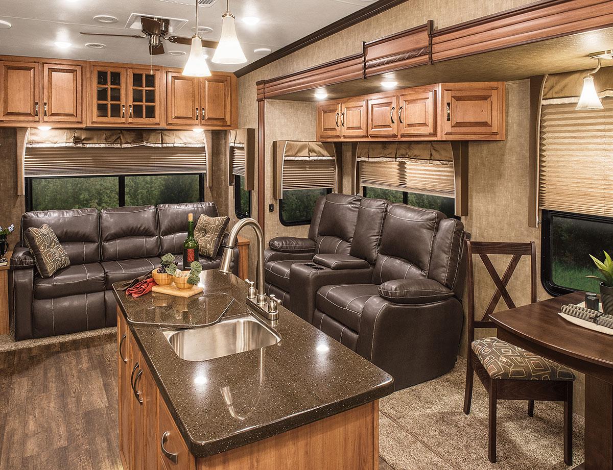 2016 Durango Gold G355rlt Fulltime Luxury Fifth Wheel Kz Rv