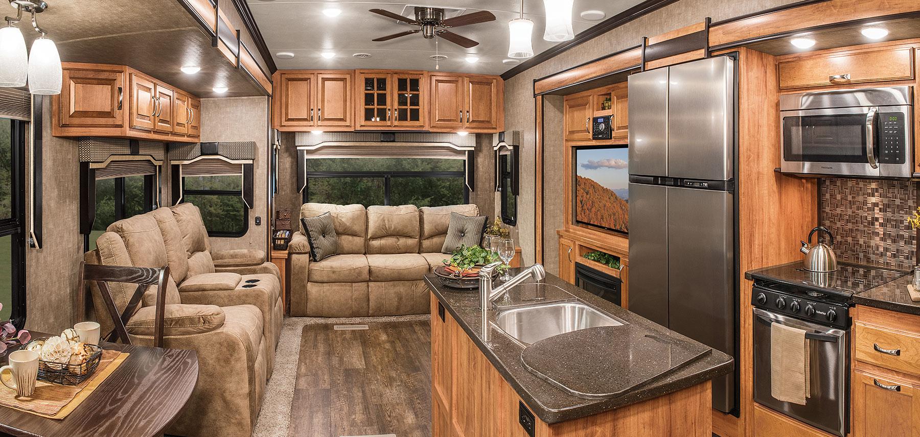 2016 Durango Gold G366fbt Fulltime Luxury Fifth Wheel K Z Rv