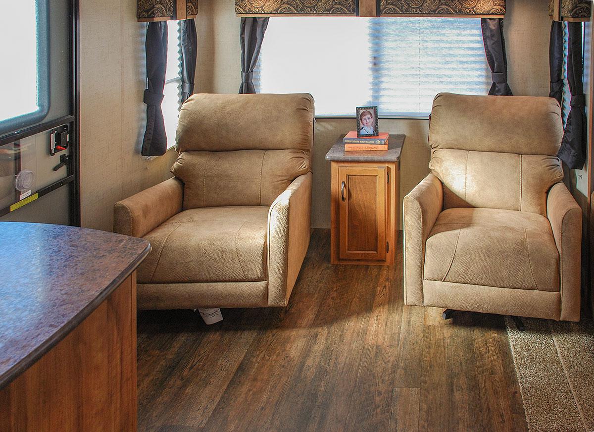 2016 K Z RV Spree Connect C290RLS Travel Trailer Living Room ...