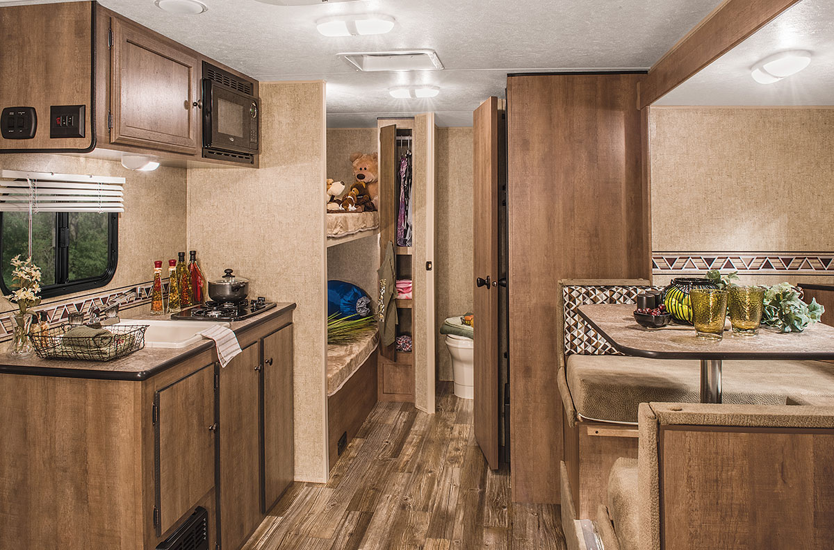 2016 Spree Escape E196s Ultra Lightweight Travel Trailer