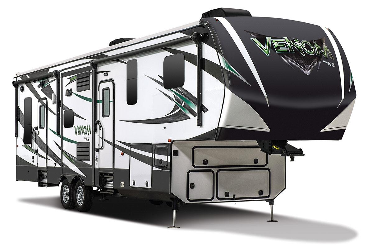 2016 Venom V3311tq Luxury Fifth Wheel Toy Hauler Kz Rv