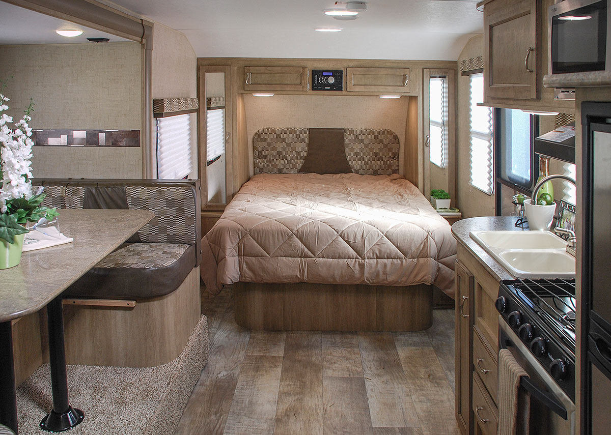 2016 Vision V22bhs Ultra Lightweight Travel Trailer Kz Rv