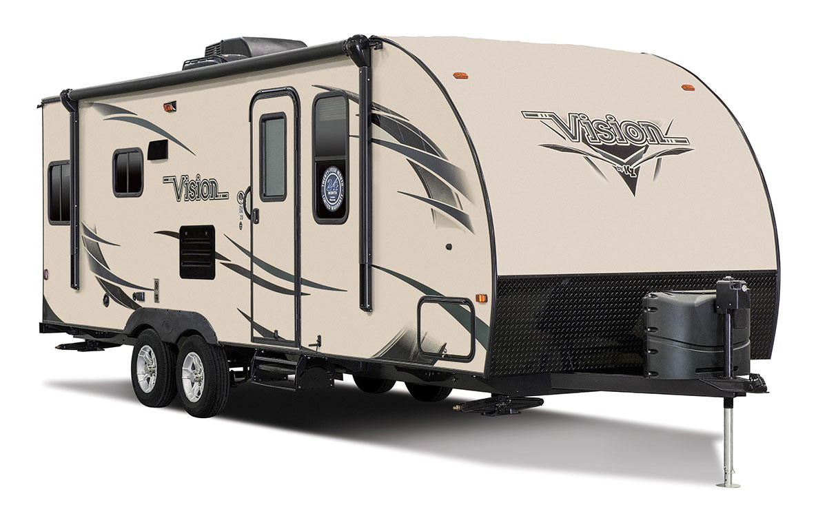 2016 Vision V23rls Ultra Lightweight Travel Trailer Kz Rv