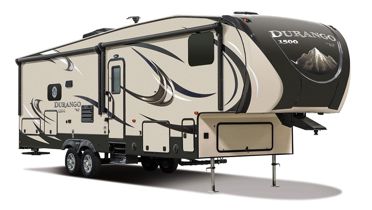 Luxury rv exterior -  2017 K Z Rv Durango 1500 D286bhd Fifth Wheel Exterior