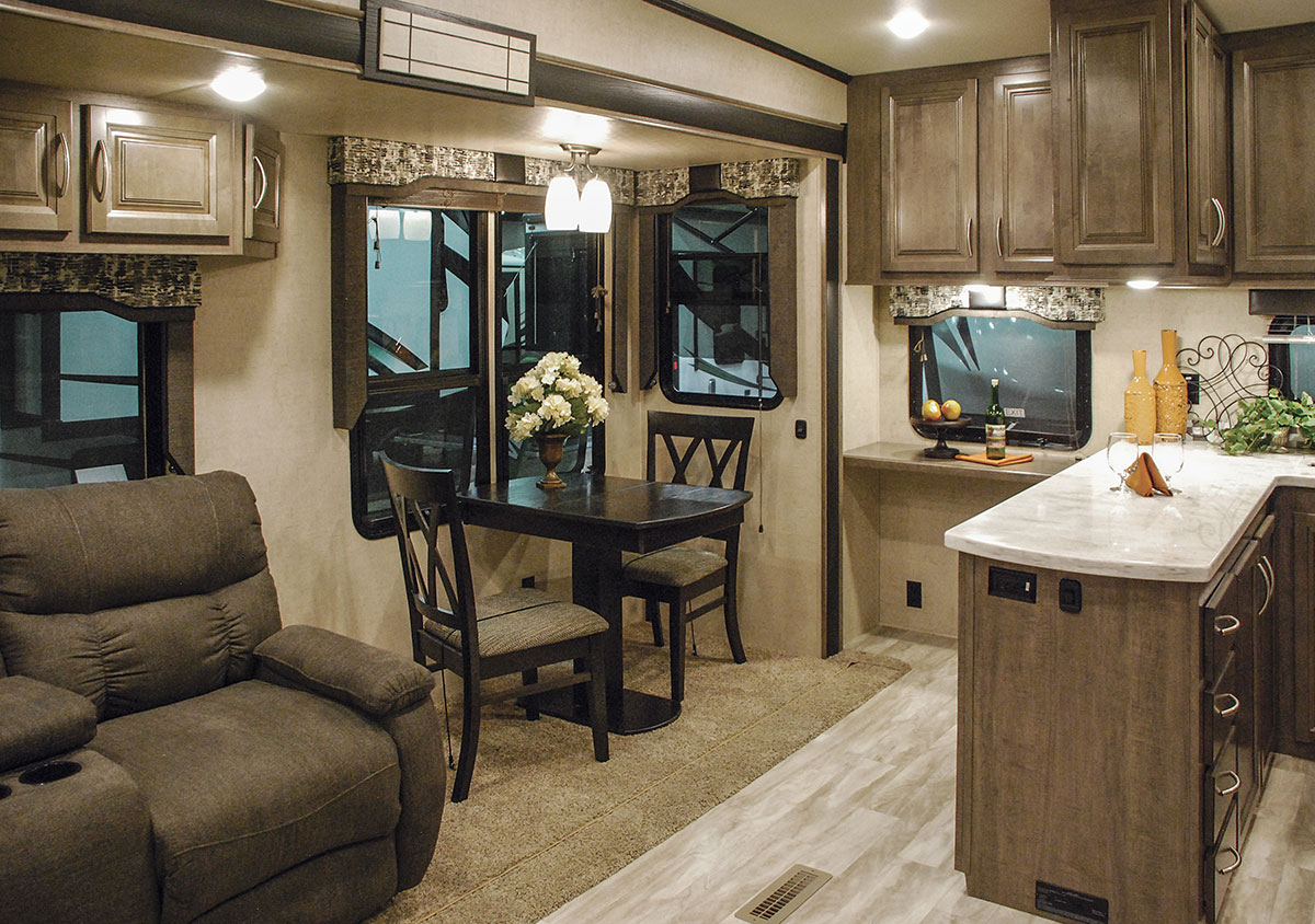2017 Durango Gold G353rkt Fulltime Luxury Fifth Wheel Kz Rv