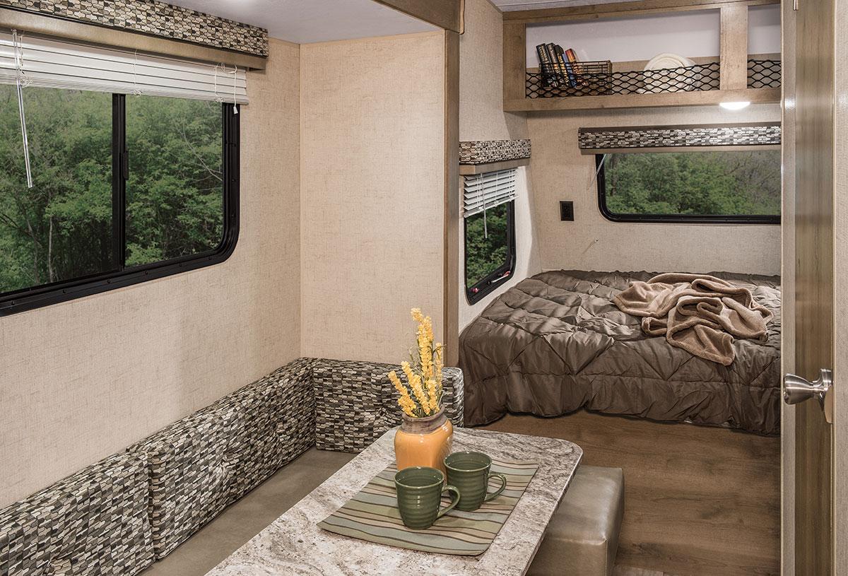2017 Escape Mini M181rk Ultra Lightweight Travel Trailer