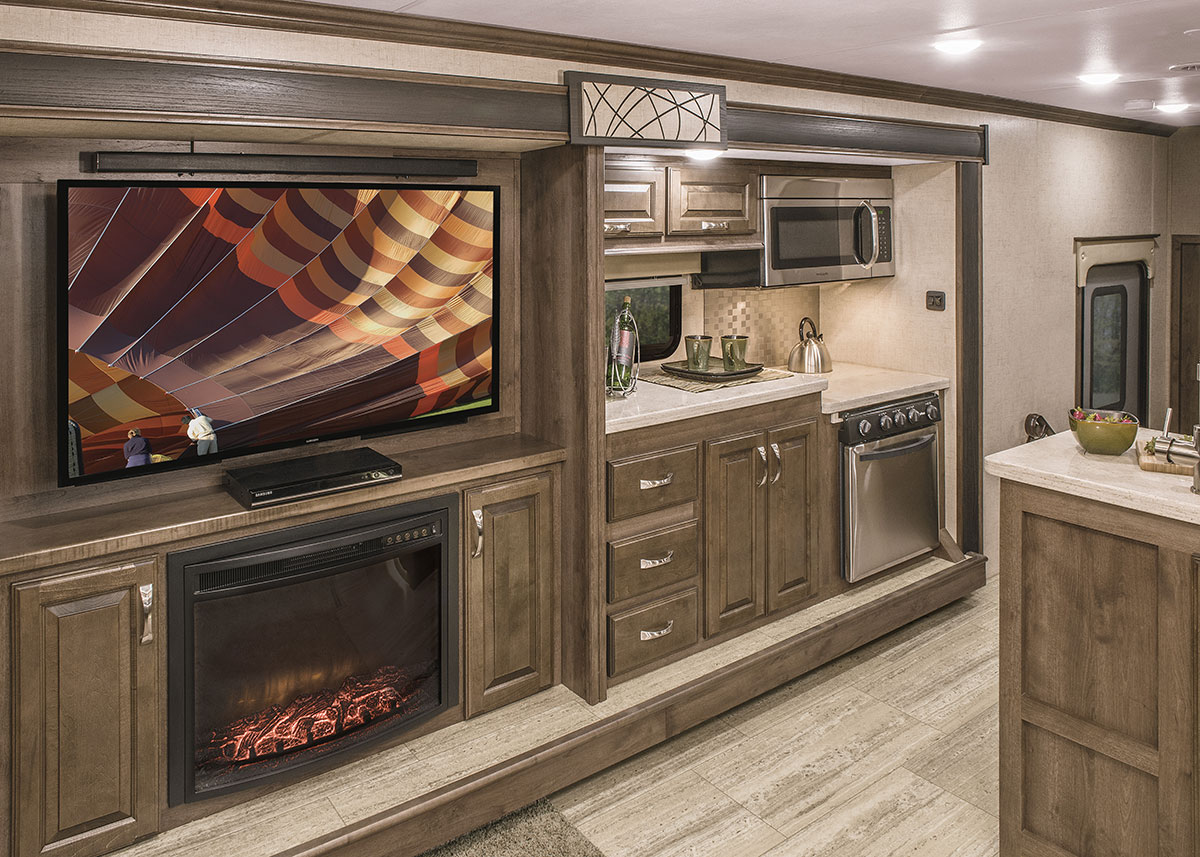 2017 Venom V4020dq Luxury Fifth Wheel Toy Hauler Kz Rv