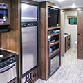 2018 KZ RV Connect C261RB Travel Trailer Entertainment Center in Fossil Decor
