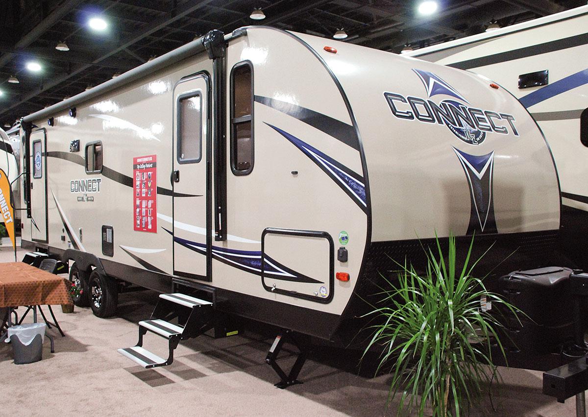 Connect C261RL Lightweight Travel Trailer   KZ RV