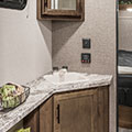 2018 KZ RV Connect C261RL Travel Trailer Bathroom Sink