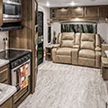 2018 KZ RV Connect C261RL Travel Trailer Living Room