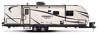 2018 KZ RV Connect C271BHK Travel Trailer Exterior Side Profile Door Side