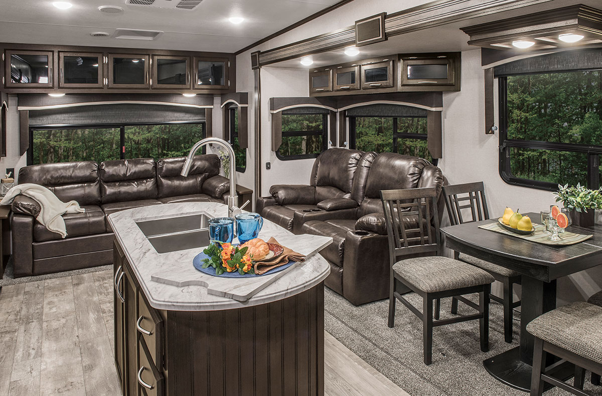 Durango 1500 Sport D270rld Lightweight Luxury Fifth Wheel K Z Rv