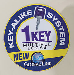 Durango Key-Alike Locks