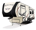 2018 KZ RV Durango D315RKD Fifth Wheel Show Exterior Front 3-4 Off Door Side