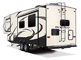 2018 KZ RV Durango D315RKD Fifth Wheel Show Exterior Rear 3-4 Off Door Side