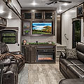2018 KZ RV Durango D315RKD Fifth Wheel Living Room