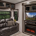2018 KZ RV Durango D325RLT Fifth Wheel Entertainment Center