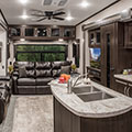 2018 KZ RV Durango D325RLT Fifth Wheel Living Room