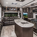 2018 KZ RV Durango D343MBQ Fifth Wheel Living Room