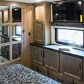 2018 KZ RV Durango Gold G381REF Fifth Wheel Bedroom Cabinets