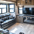 2018 KZ RV Durango Gold G381REF Fifth Wheel Entertainment Center
