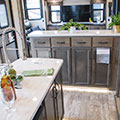 2018 KZ RV Durango Gold G381REF Fifth Wheel Kitchen Cabinets