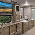 2018 KZ RV Durango Gold G384RLT Fifth Wheel Bedroom Sink