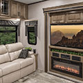 2018 KZ RV Durango Gold G384RLT Fifth Wheel Entertainment Center