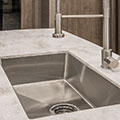 2018 KZ RV Durango Gold G384RLT Fifth Wheel Kitchen Sink Detail