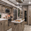 2018 KZ RV Durango Gold G384RLT Fifth Wheel Kitchen