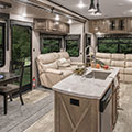 2018 KZ RV Durango Gold G384RLT Fifth Wheel Living Room