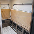 2018 KZ RV Escape E180RBT Travel Trailer Beds