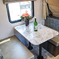 2018 KZ RV Escape E180RBT Travel Trailer Dinette