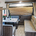 2018 KZ RV Escape E180RBT Travel Trailer Sofa