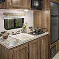 2018 KZ RV Escape E191SS Travel Trailer Kitchen