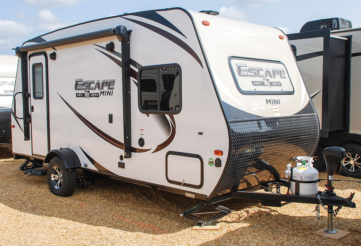 Escape Mini M181rk Ultra Lightweight Travel Trailer Kz Rv