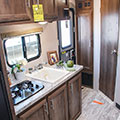 2018 KZ RV Escape Mini M181SS Travel Trailer Kitchen