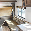 2018 KZ RV Sportsmen Classic 160RBT Travel Trailer Sofa