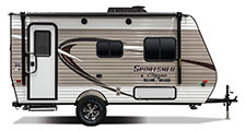 2018 KZ RV Sportsmen Classic 160RBT Travel Trailer Exterior Side Profile Door Side