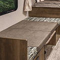 2018 KZ RV Sportsmen Classic 160RBT Travel Trailer Dinette Down