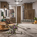 2018 KZ RV Sportsmen Classic 160RBT Travel Trailer Kitchen