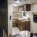 2018 KZ RV Sportsmen Classic 180THT Travel Trailer Toy Hauler Kitchen