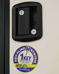 Sportsmen LE Key-Alike Entry System