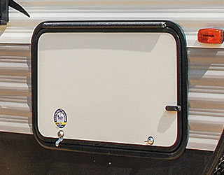 Sportsmen Exterior Magnetic Baggage Door Catches