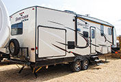 2018 KZ RV Sportsmen 262RLK Fifth Wheel Exterior
