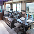 2018 KZ RV Sportsmen 262RLK Fifth Wheel Dinette