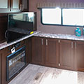 2018 KZ RV Sportsmen 262RLK Fifth Wheel Entertainment Center