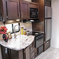 2018 KZ RV Sportsmen 302BHK Fifth Wheel Kitchen